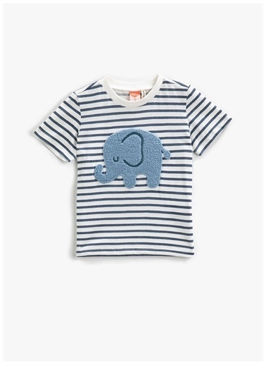Koton Koton T-Shirt Lacivert